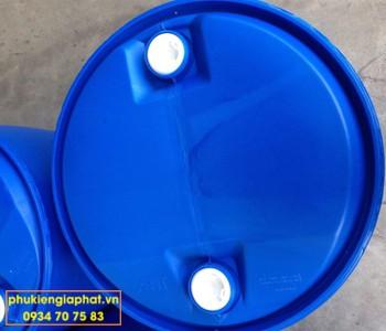 Lu nhựa trơn 220 lít cũ