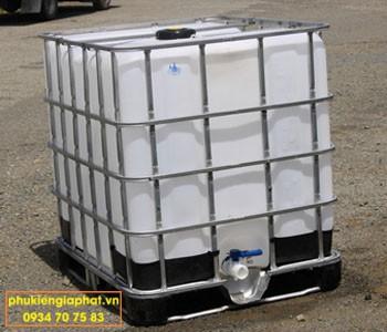 Tank nhựa IBC 1 khối cũ 90%