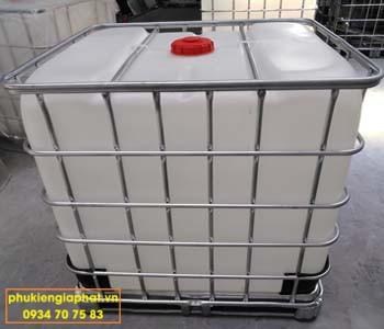 Tank nhựa trắng 1000 lít renew