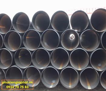 Thép ống đen cỡ lớn Hòa Phát