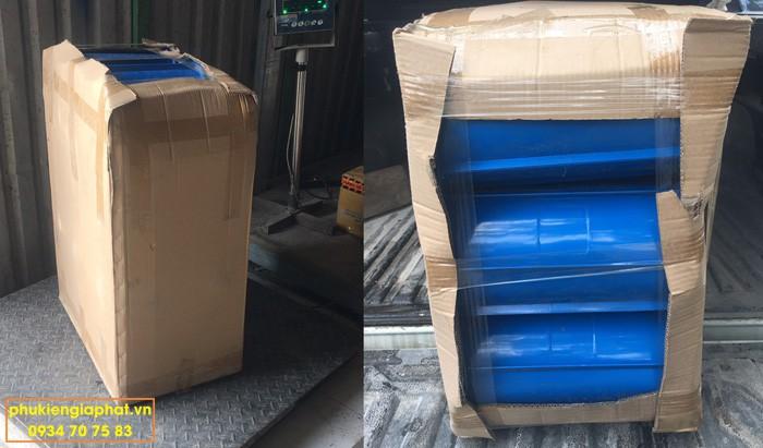 khuôn nhựa hình trụ đóng gói thùng carton
